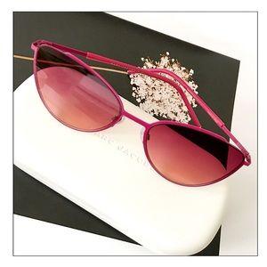Marc Jacobs Fuschia Pink Metallic Sunglasses